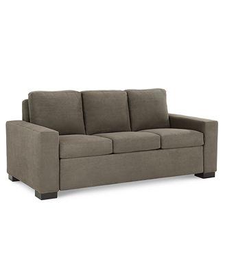 Furniture Alaina 77 Fabric Sofa Bed Queen Sleeper Created For