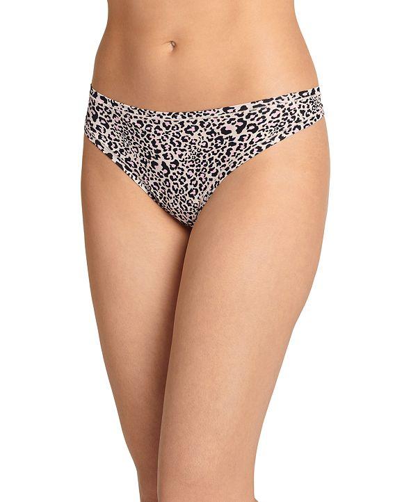 Jockey Women's TrueFit Promise One Size Thong Underwear 3378