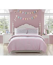 MHF Home Kids Ellie Striped Comforter Sets