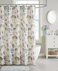 "Cavallini 72""x 72"" Shower Curtain"