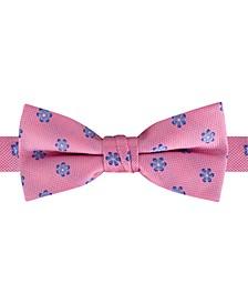 Big Boys Pre-Tied Mini-Floral Bow Tie