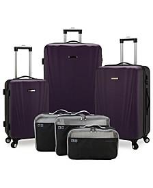 Courtland 6-Pc Hardside Luggage Set