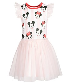 Little Girls Minnie Mouse Flutter Dress