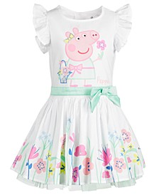 Little Girls Spring Garden Dress