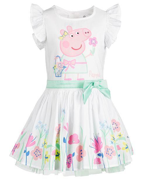 peppa pig little girls spring garden dress  reviews  all