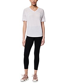 Mesh-Inset Active T-Shirt