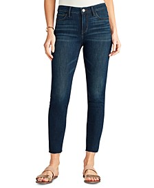 The Kitten Mid Rise Skinny Ankle Jeans
