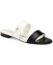 Women's Elliana Double-Band Flat Sandals