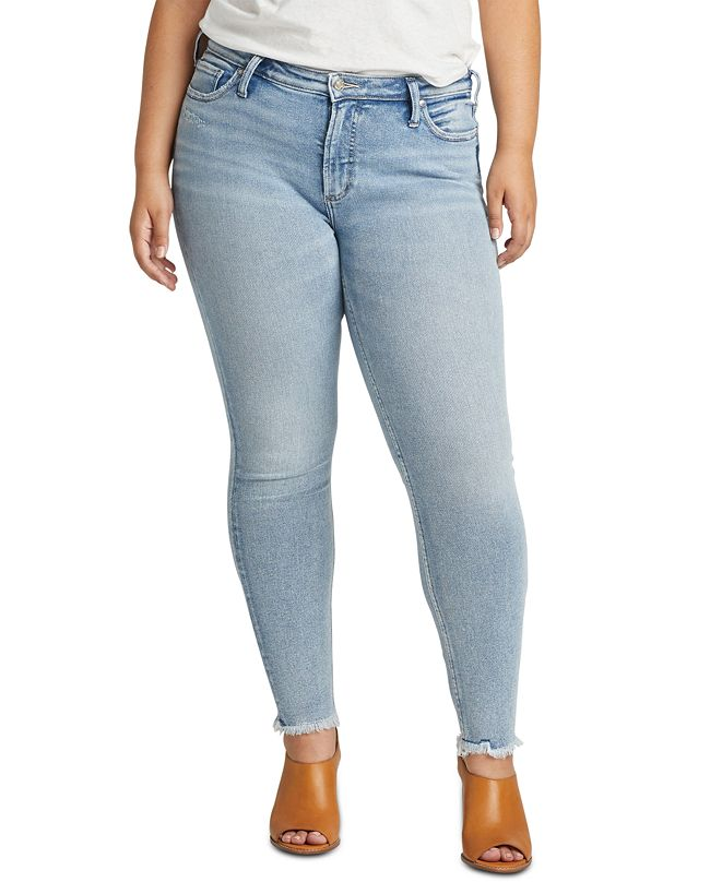 Silver Jeans Co. Trendy Plus Size Most Wanted Skinny Jeans