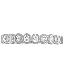Diamond Bubble Band (1/4 ct. t.w.) in 14k White Gold