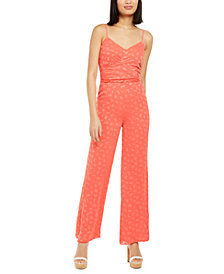 Michael Michael Kors Printed Jumpsuit, Available in Regular and Petites