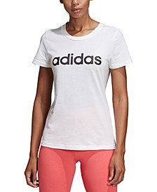 Women's Cotton Slim Logo T-Shirt