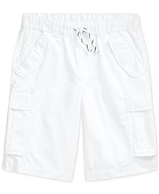Big Boys Cotton Ripstop Cargo Shorts