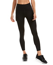 Textured-Panel Leggings
