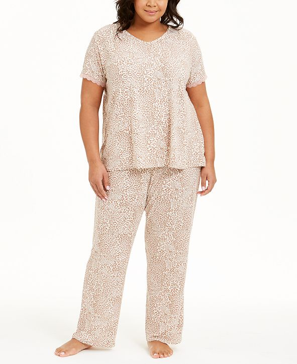 Flora by Flora Nikrooz Plus Size Lilah PJ Set