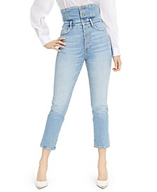 The It Girl Pin-Up High-Waisted Skinny Jeans