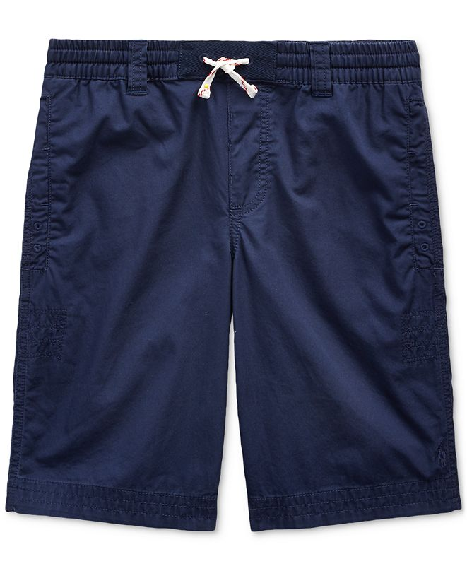 Polo Ralph Lauren Big Boys Cotton Twill Shorts