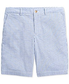 Little Boys Slim Stretch Seersucker Shorts