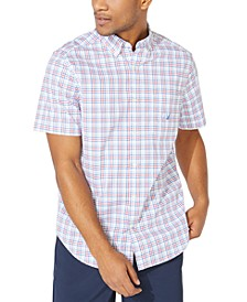 Men's Blue Sail Plaid Shirt, Created for Macy's