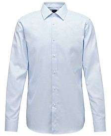 BOSS Men's T-Carl Light Pastel Blue Shirt