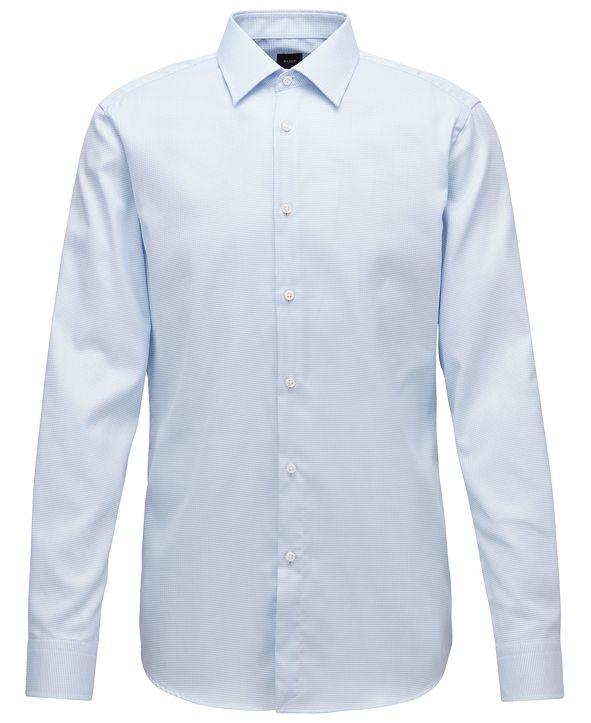 Hugo Boss BOSS Men's T-Carl Light Pastel Blue Shirt