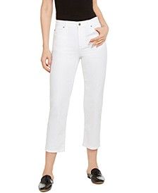 High-Rise Straight-Leg Jeans, Regular & Petite Sizes, Created for Macy's
