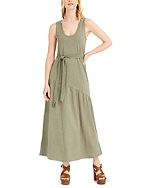 Eliza Belted Maxi Dress