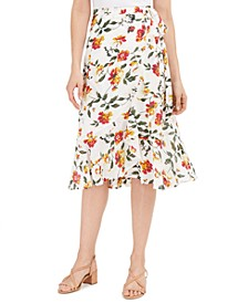 Sadie Wrap Midi Skirt