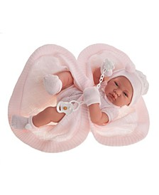 "17"" Newborn Toquilla Girl Doll"