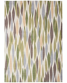"Shady Brights SHA01 Mauve 5'3"" x 7'5"" Area Rug"