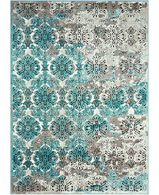 "Fate FAT05 Ivory 5'3"" x 7'4"" Area Rug"