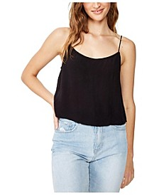 Astrid Cropped Scoop Neck Cami