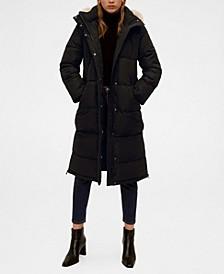 Detachable Hood Long Anorak