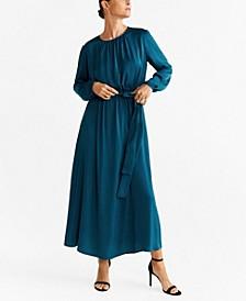 Flowy Belt Dress