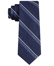 Men's Distressed Stripe Tie