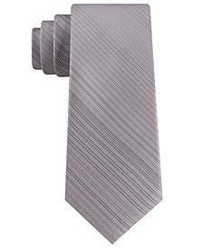 Men's Classic Tonal Vertical Grid Tie