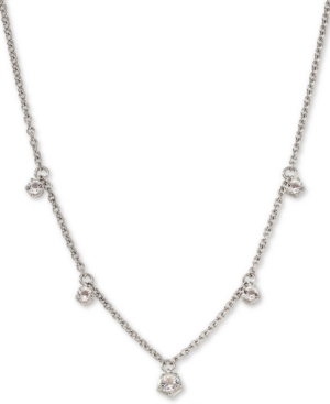 Shaky Crystal Pendant Necklace