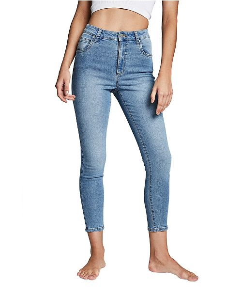 COTTON ON High Rise Cropped Skinny Jean