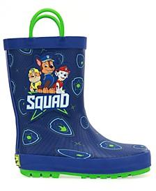 Toddler Boys Paw Patrol Squad Rain Boot