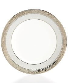 Noritake Odessa Platinum Appetizer Plate