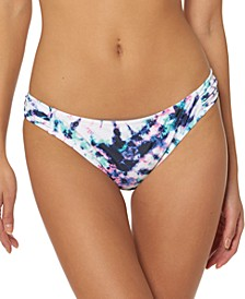 Tie-Dyed Hipster Bikini Bottoms