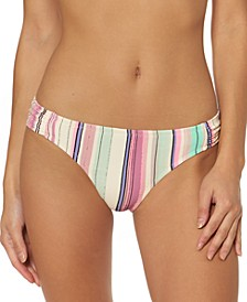 Striped Hipster Bikini Bottoms