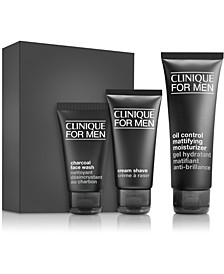 3-Pc. Clinique For Men Daily Oil Control Set