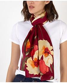 Larene Silk Oblong Scarf