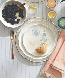 Butterfly Meadow Gold 20th Anniversary Limited Edition Dinnerware Collection