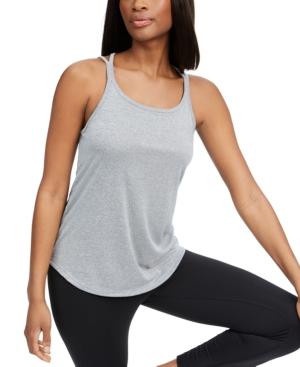 Nike Women's Yoga Dri-fit Strappy-Back Tank Top