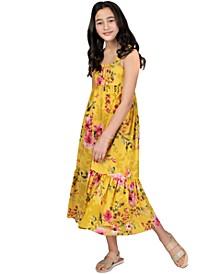 Big Girls Floral Maxi Dress