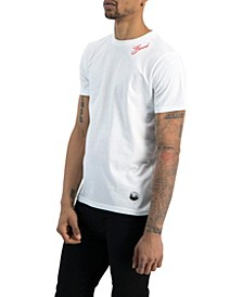 Men's Embroidered Neckline T-shirt