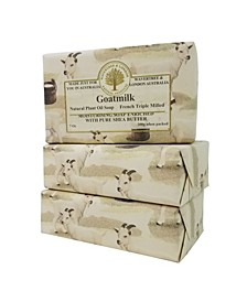 Goatsmilk Soap with Pack of 3, Each 7 oz