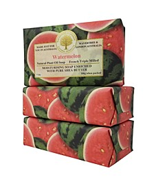 Watermelon Soap with Pack of 3, Each 7 oz